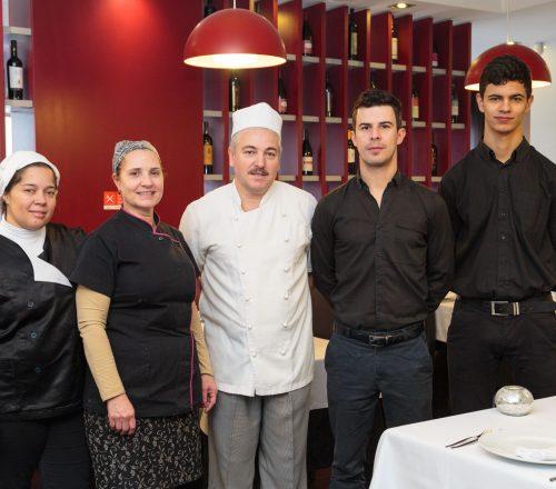 Restaurante Augusta Equipa