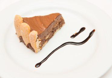 Charlotte de chocolate, Restaurante O Pórtico, Bom Jesus, Braga