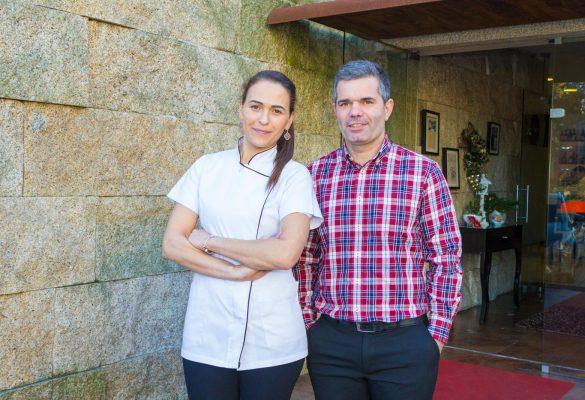Clara e João Torres do Restaurante Torres em Famalicão