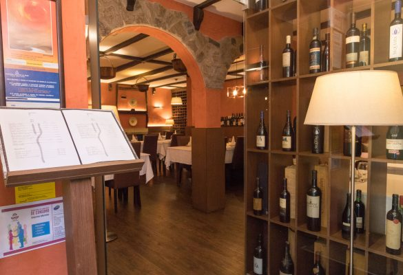 Restaurante O Pórtico no Bom Jesus em Braga