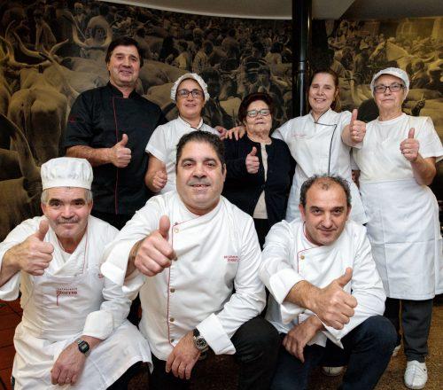 A equipa do Restaurante Torres, Vila Verde