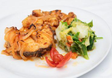 Restaurante Torres Famalicão, pescada grelhada